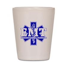 Star of Life EMT (blue) Shot Glass