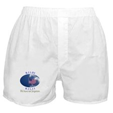 9-11 Not Forgotten Boxer Shorts