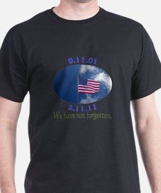 9-11 Not Forgotten T-Shirt