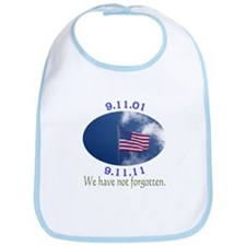9-11 Not Forgotten Bib