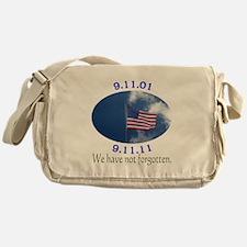 9-11 Not Forgotten Messenger Bag
