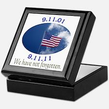 9-11 Not Forgotten Keepsake Box