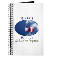 9-11 Not Forgotten Journal