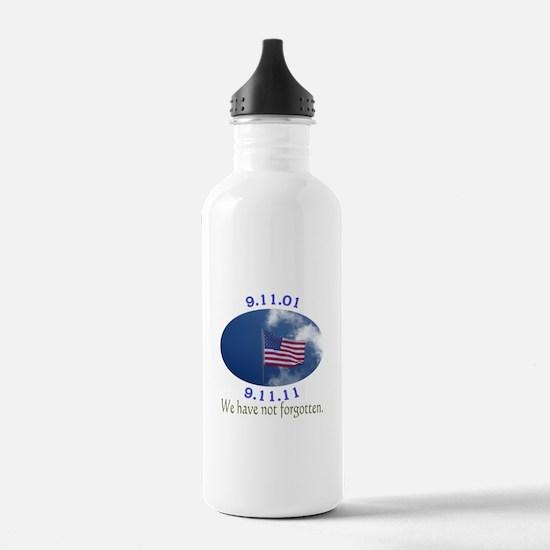 9-11 Not Forgotten Water Bottle