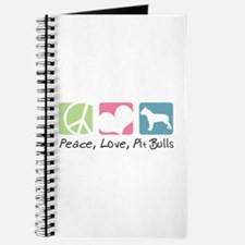 Peace, Love, Pit Bulls Journal