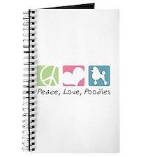 Peace, Love, Poodles Journal