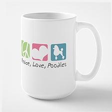Peace, Love, Poodles Mug