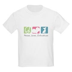 Peace, Love, Chihuahuas T-Shirt