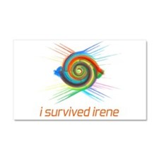 I survived irene Car Magnet 20 x 12