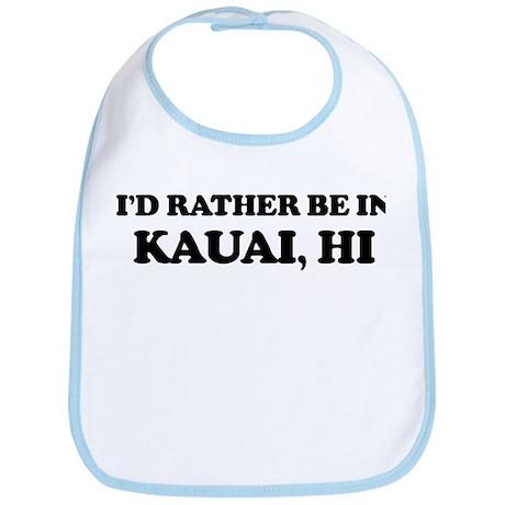Rather be in Kauai Bib