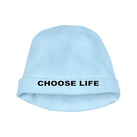 Choose Life baby hat