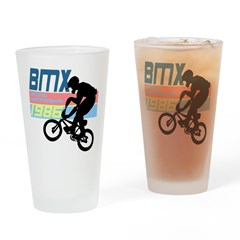 1980's BMX Drinking Glass