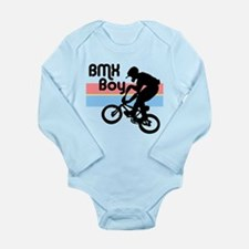 1980s BMX Boy Long Sleeve Infant Bodysuit