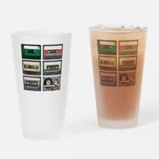Cassette Tapes Drinking Glass