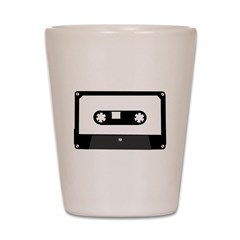Cassette Tape Shot Glass