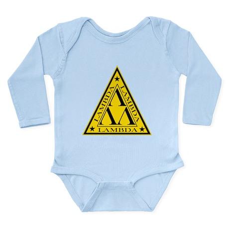 Lambda Lambda Lambda Long Sleeve Infant Bodysuit