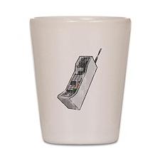 Worn 80's Cellphone Shot Glass