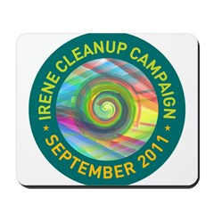 Irene Cleanup Campaign Mousepad