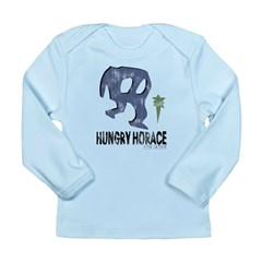 Hungry Horace Distressed Long Sleeve Infant T-Shir
