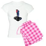 Worn Retro Joystick Women's Light Pajamas