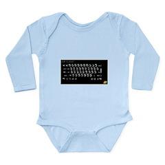 Spectrum+ Long Sleeve Infant Bodysuit