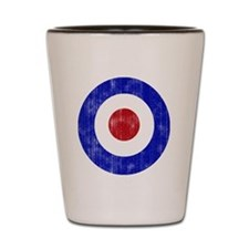Sixties Mod Emblem Shot Glass