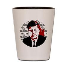 John F Kennedy Shot Glass