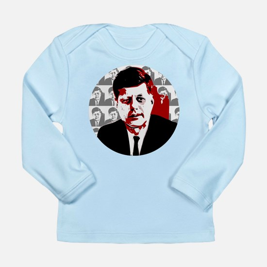 John F Kennedy Long Sleeve Infant T-Shirt