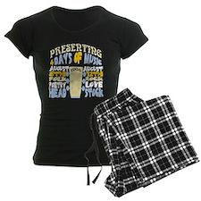 Sixties Music Festival Pajamas