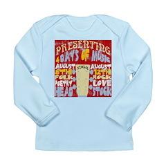 Worn Look 60's Festival Long Sleeve Infant T-Shirt