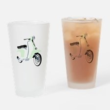 Mod Scooter Drinking Glass