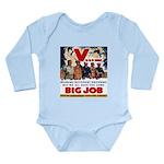 Same Big Job Long Sleeve Infant Bodysuit