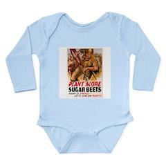 WW2 Sugar Beets Long Sleeve Infant Bodysuit