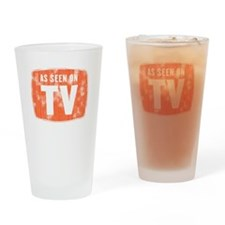 As Seen On TV Distressed Drinking Glass