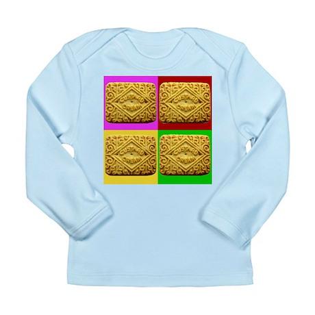 Custard Cream Long Sleeve Infant T-Shirt