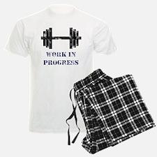 Gym Work In Progress Distress Pajamas
