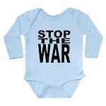 Stop The War Long Sleeve Infant Bodysuit