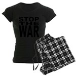 Stop The War Women's Dark Pajamas