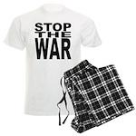 Stop The War Men's Light Pajamas