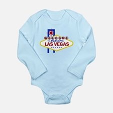 Welcome to Fabulous Las Vegas Long Sleeve Infant B