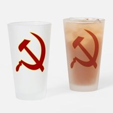 Hammer and Sickle Drinking Glass