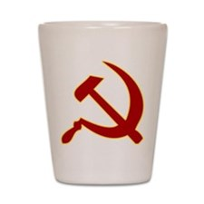 Hammer and Sickle Shot Glass