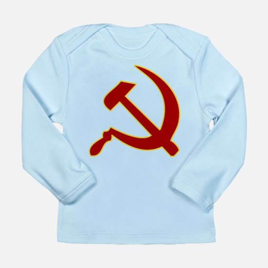 Hammer and Sickle Long Sleeve Infant T-Shirt
