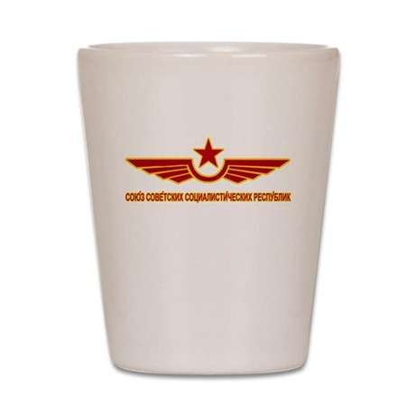 Russian CCCP Shot Glass
