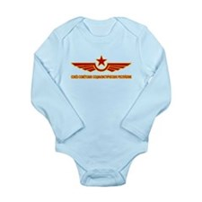 Russian CCCP Long Sleeve Infant Bodysuit