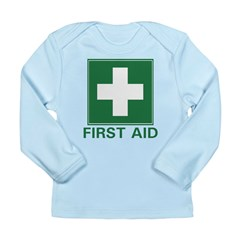 First Aid Long Sleeve Infant T-Shirt