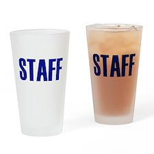 Staff Drinking Glass