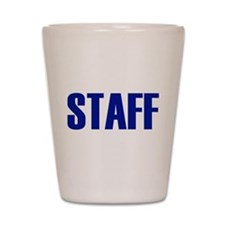 Staff Shot Glass