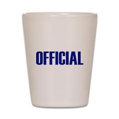 Official Shot Glass