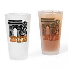 Champ Elysees Paris Drinking Glass